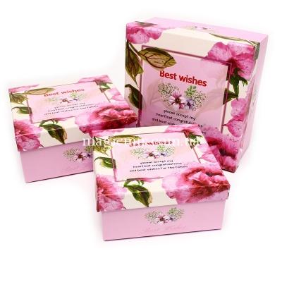 Букет (розовый) в шоколаде