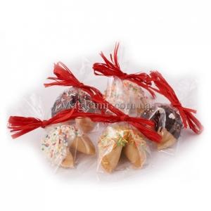 """Печенье с предсказаниями """"Корзина""""в шоколаде"""